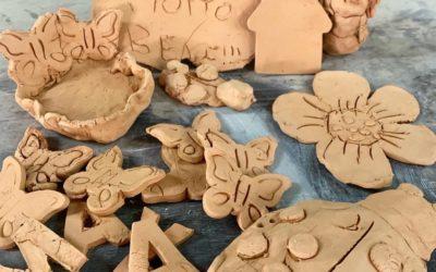 """""""A casa con l'argilla"""", la nostra iniziativa a Faenza e dintorni"""