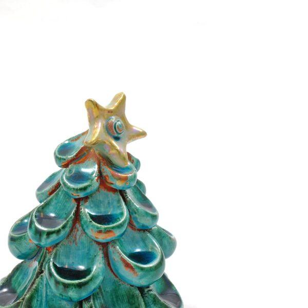dettaglio albero di natale ceramiche lega